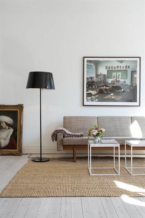 tapis-sisal-intérieur-élégant-sol-en-bois