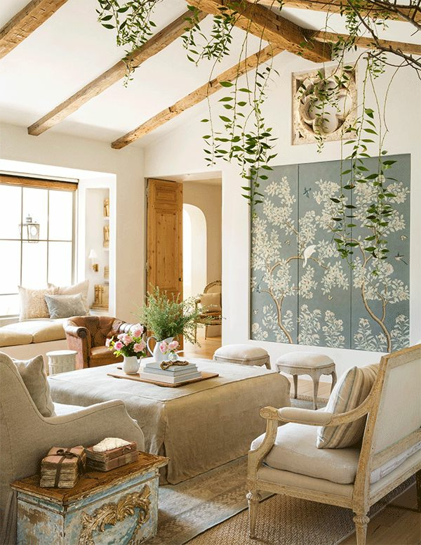 tapis-sisal-intérieur-vintage-original