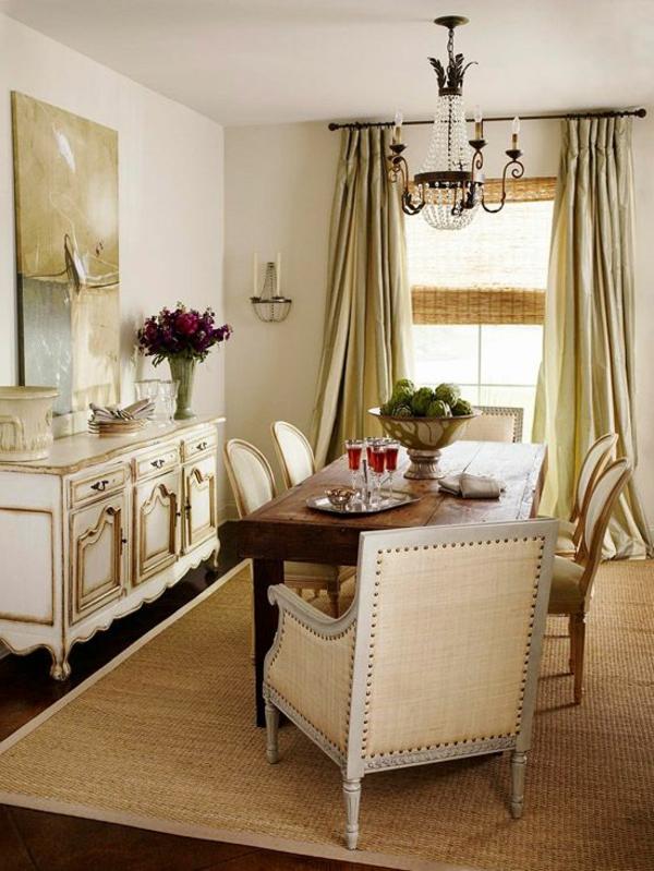 tapis-sisal-salle-à-manger-splendide-en-beige