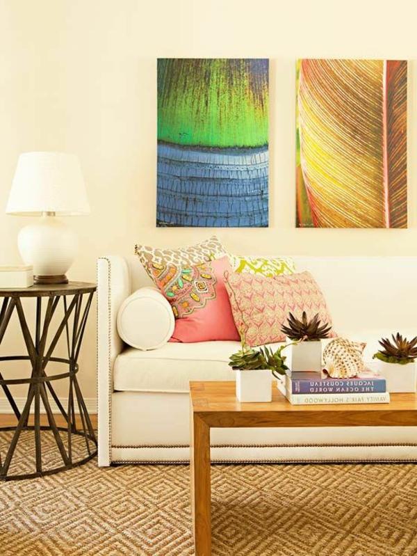 tapis-sisal-texture-formidable-peintures-abstraites