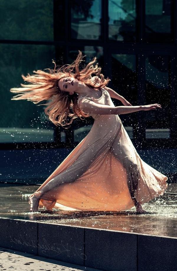 tenue-de-danse-moderne-robe-longue