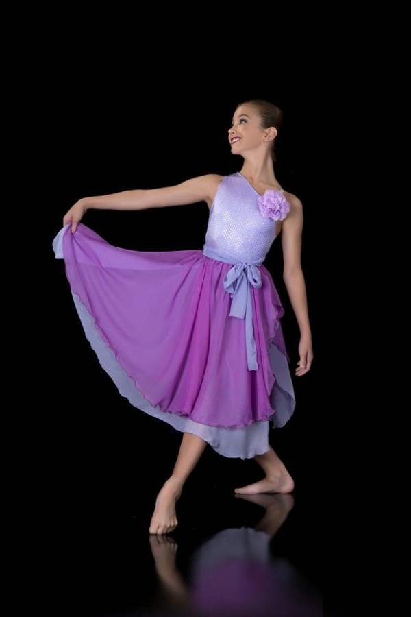 tenue-de-danse-moderne-tenue-douce-de-danse-lyrique