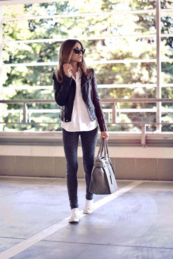La veste en cuir 89 id es comment la porter - Comment porter plainte contre une mairie ...