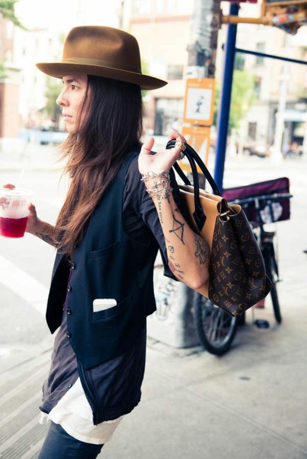 vêtements-moderne-rue-style-chapeau