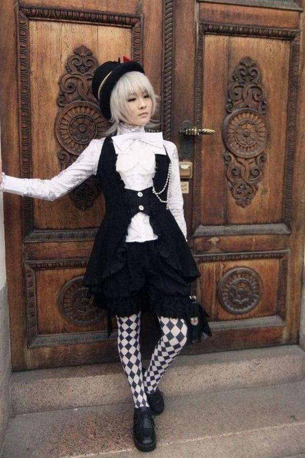 vêtements-moderne-style-gothique