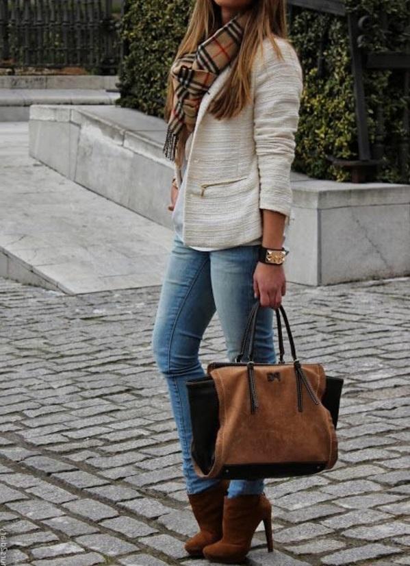 écharpe-femme-mode-tenues-de-jour