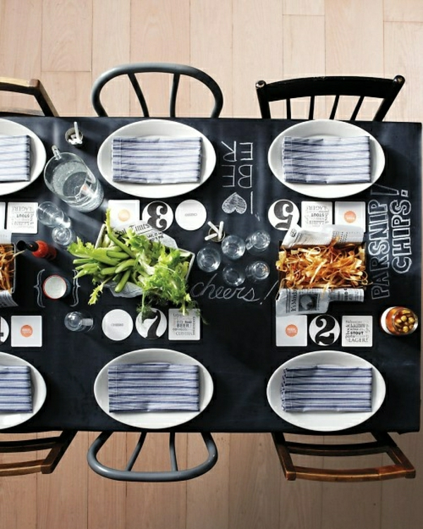 101 idées pour la nappe de table, un accessoire indispensable!