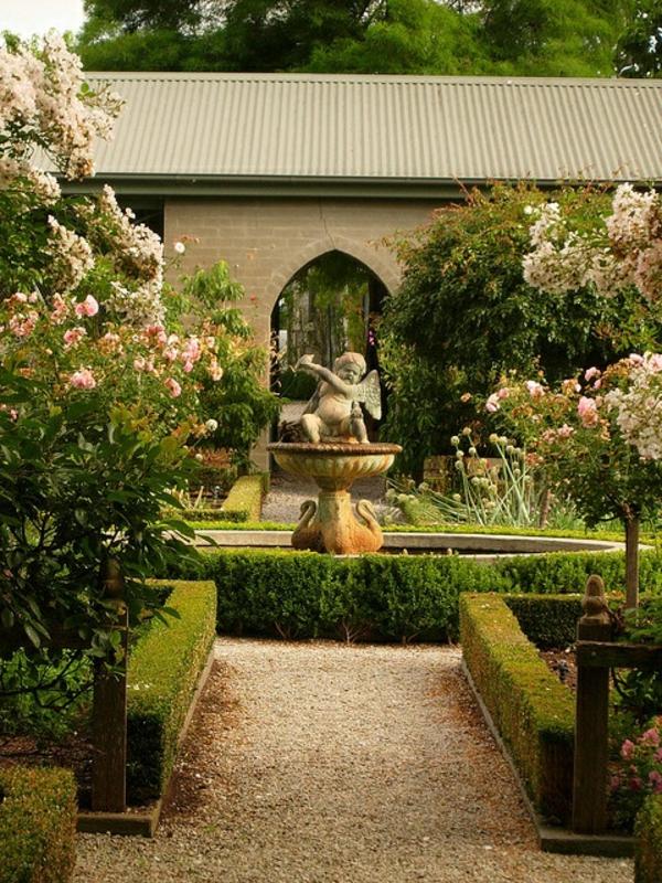 1-beau-jardin-avec-gravier-blanc-pour-allée-fontain