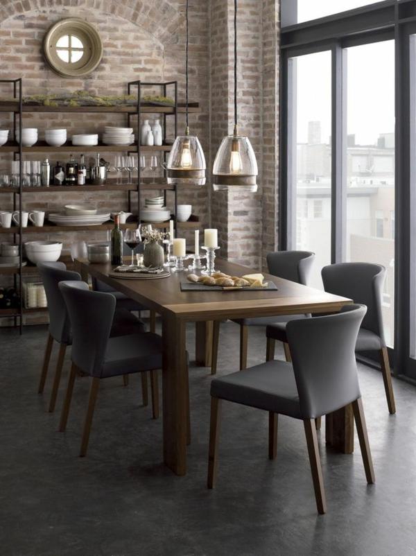 1-chaise-de-salle-à-manger-aménagement-style-new-yorkais