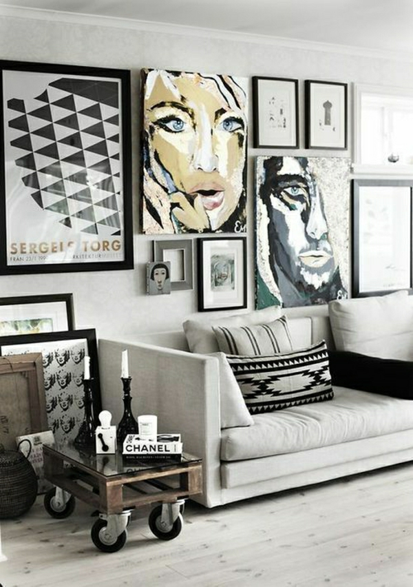 Comment bien d corer son salon id es cr atives en photos for Art et decoration salon
