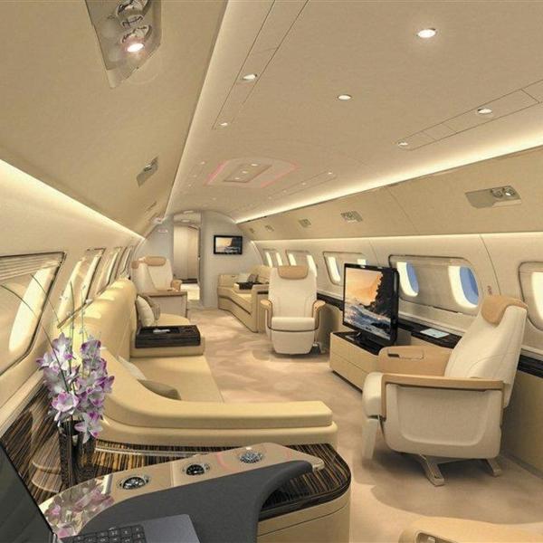 1-intérieur-jet-privé-avion-privé-canapés-en-cuir-beige
