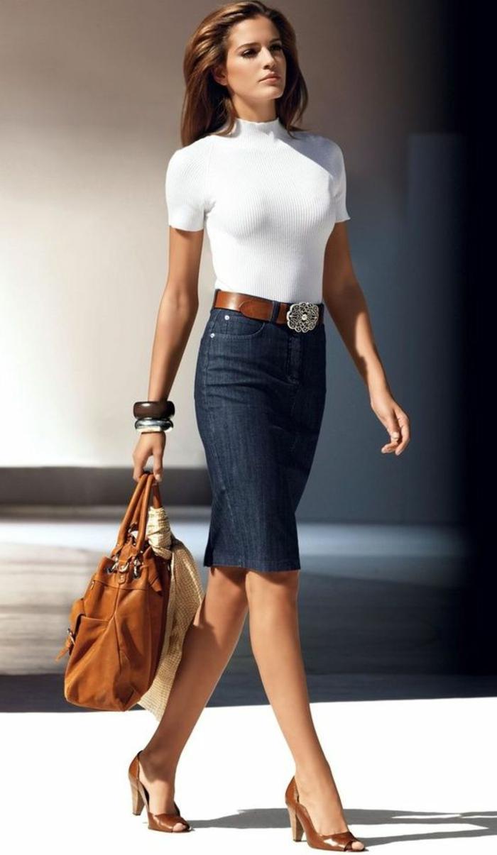 1-jupe-mi-longue-jupe-droite-femme-moderne-sac-a-main-en-cuir-cheveux-longs