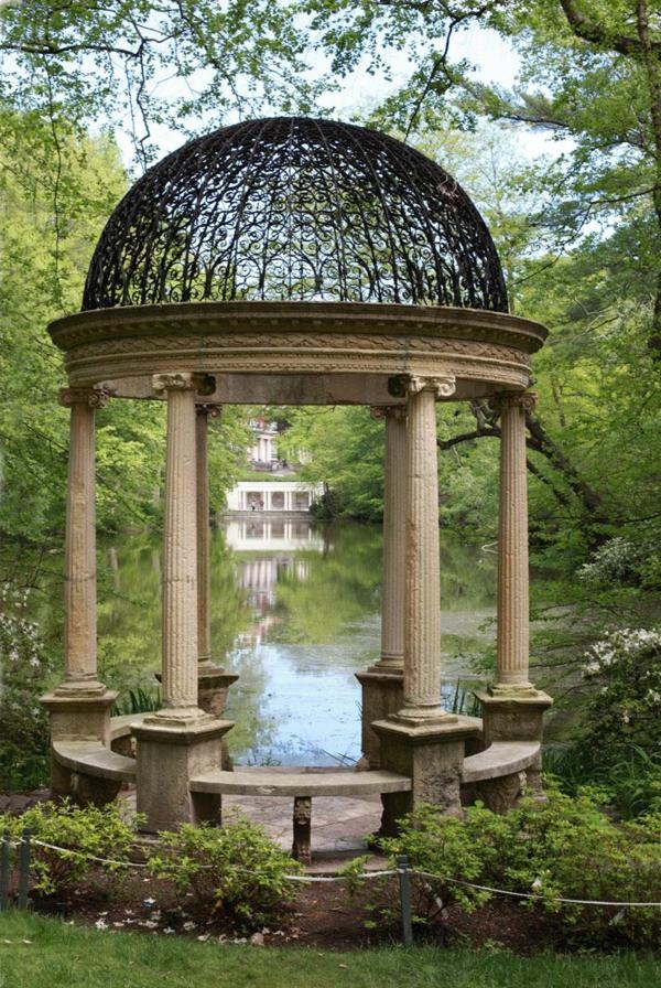 1-kiosque-de-jardin-en-pierre-lac-décoratif-maison-cour
