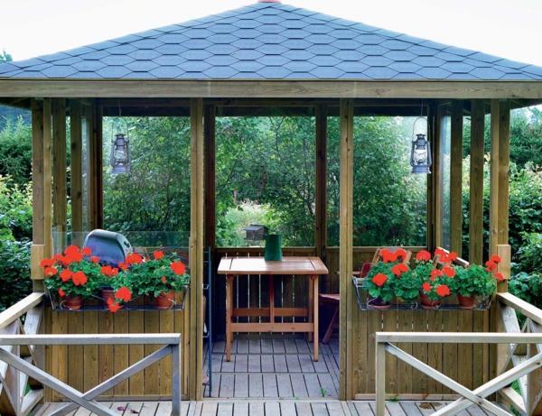 Quel kiosque de jardin pour le cour de vos rêves?