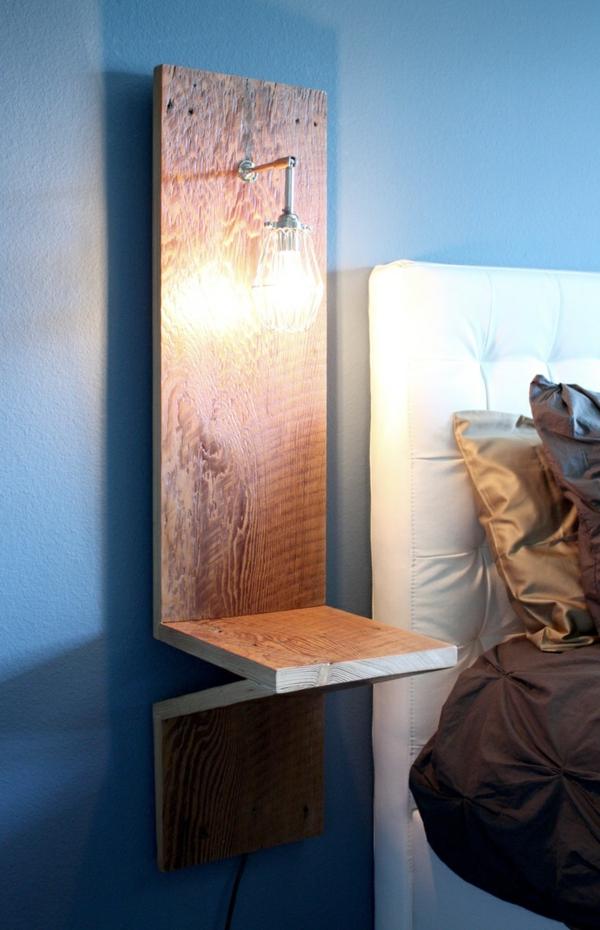 1-lampe-de-chevet-design-chambre-à-coucher-mur-bleu