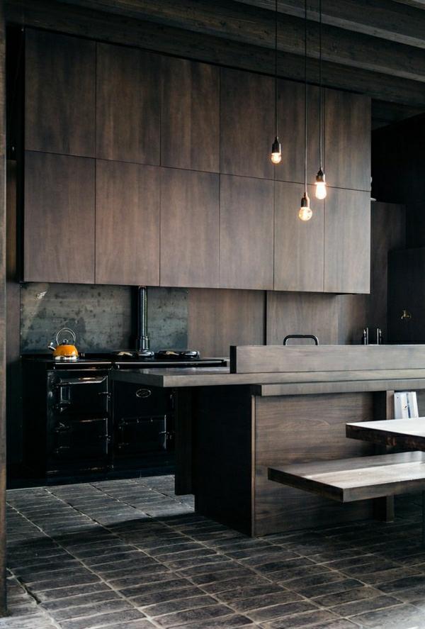 1-meubles-industriels-aménagement-industriel-carrelage-cuisine-en-bois-foncé