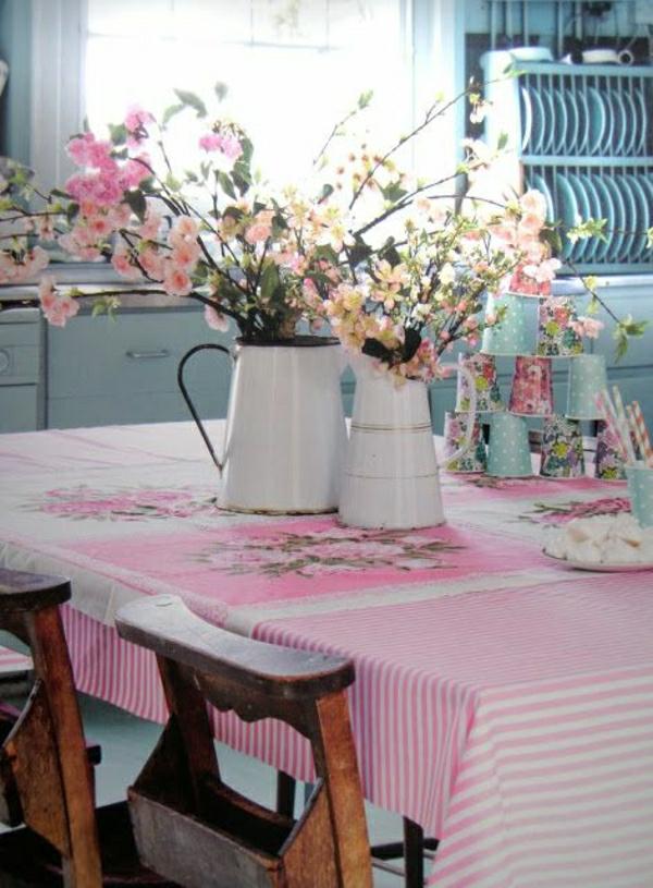 1-nappe-de-table-de-style-rustique-cuisine-moderne-salle-de-séjour