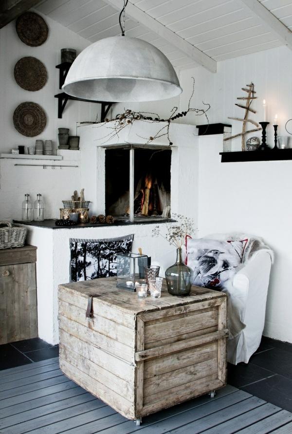 50 id es pour une table basse avec palette - Fabriquer une table de salon ...