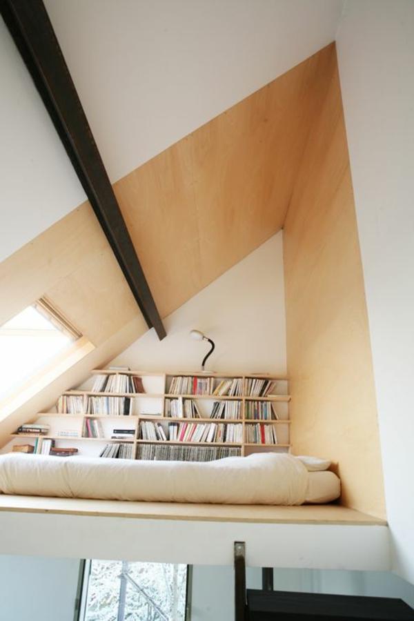 1-placard-pour-les-livres-aménagement-sous-pente
