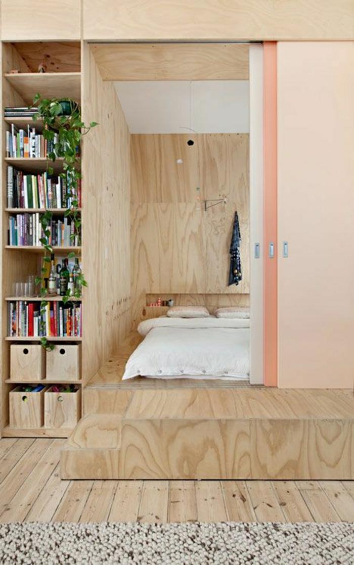 1-porte-rose-coulissante-sol-en-bois-planchers-chambre-a-coucher