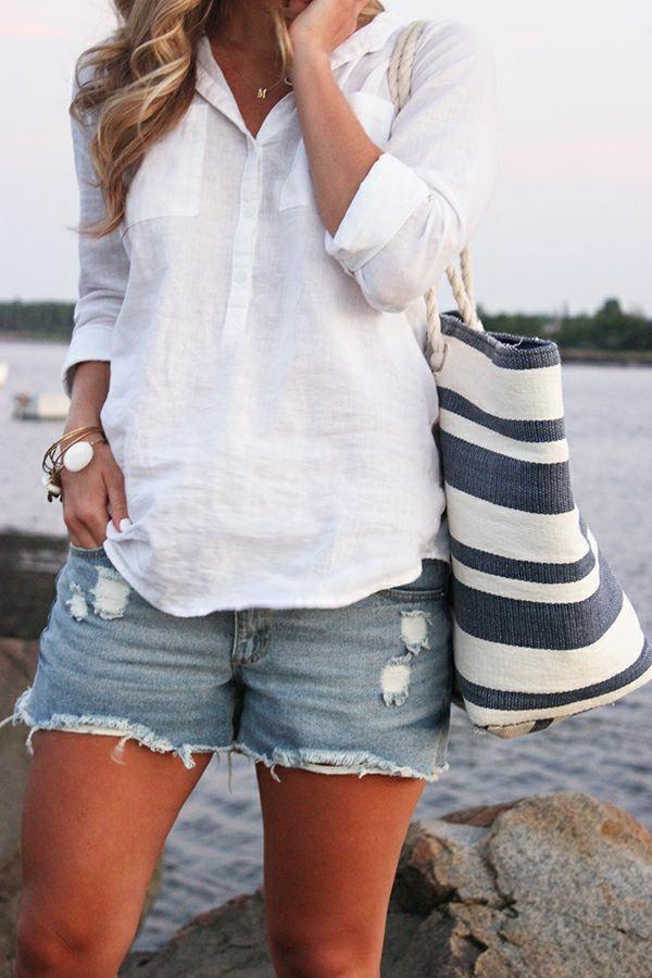 1-sac-de-plage-blanc-bleu-femme-mode-style-bohémien-chemise-blanc