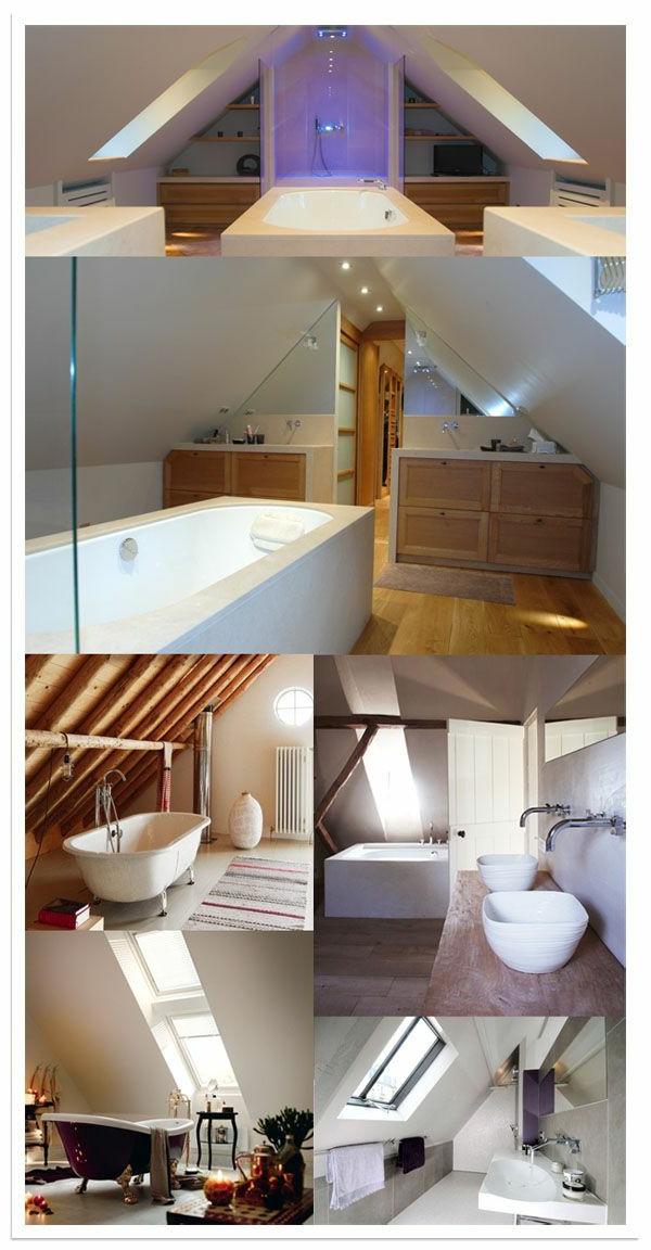 Salle de bain sous combles 20170912003009 for Salle de bain toit en pente