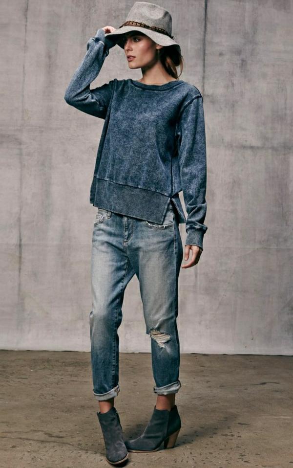 1-sweatshirt-femme-denim-mode-jean-boyfriend-chapeau-en-feutre
