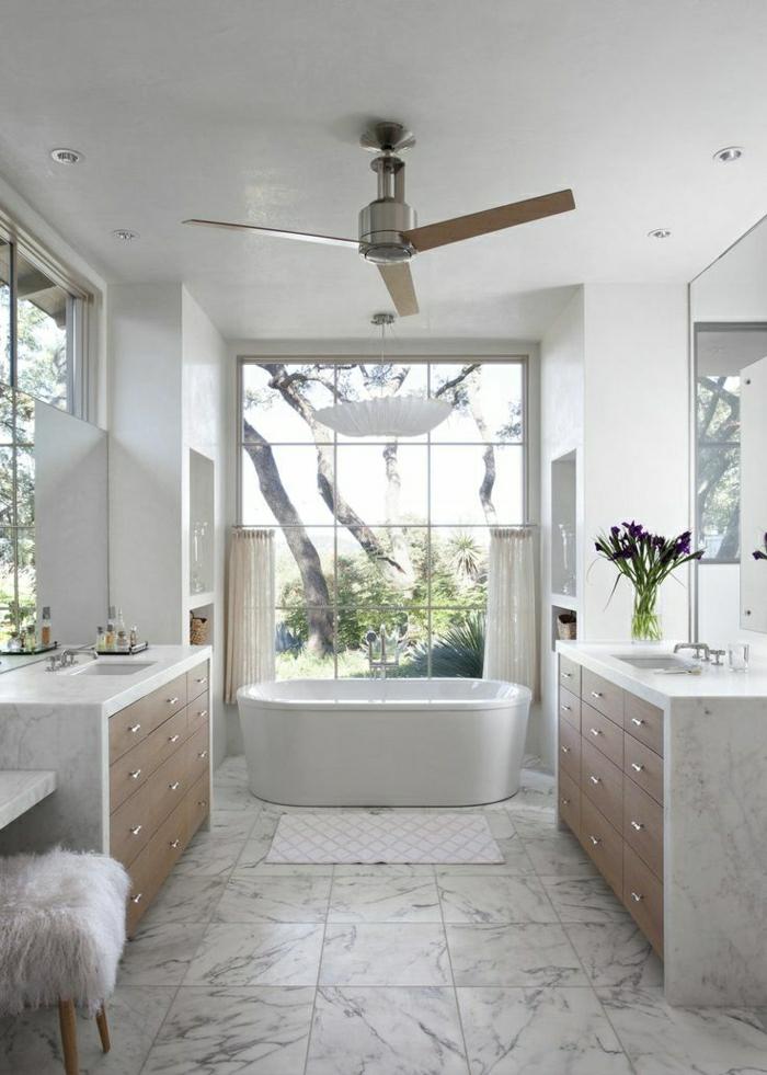 1-ventilateur-plafond-design-lustre-en-bois-salle-de-bain-moderne-meubles-en-marbre