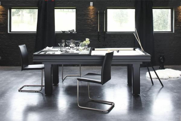 2-table-billard-convertible-à-table-à-manger-salle-de-sejour-style-new-yorkais