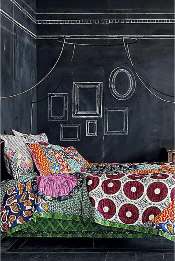 Boutis-couvre-lit-chambre-à-coucher-piece-noir-chalk