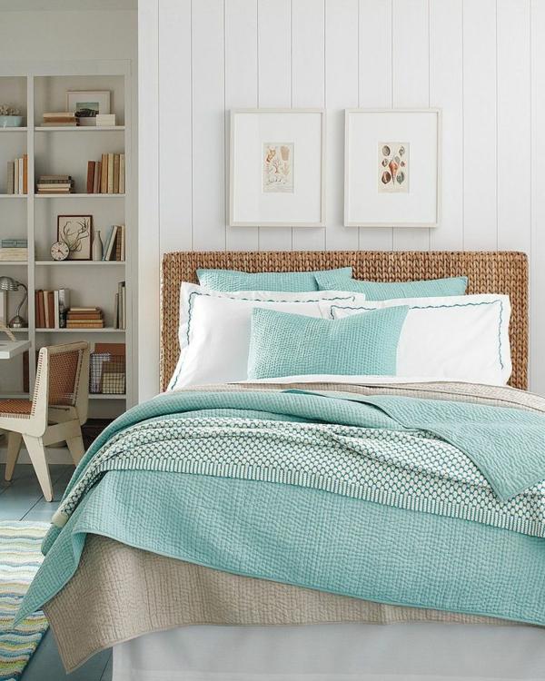 Boutis-couvre-lit-chambre-à-coucher-bibliotheque-peintures