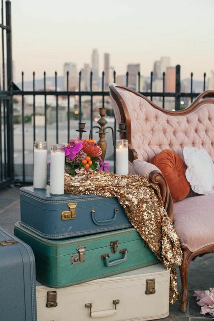 60 idées avec la valise vintage - archzine.fr, Innenarchitektur ideen