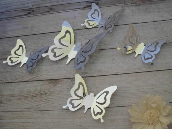 Idee-creative-miroir-mur-stickers-papillons