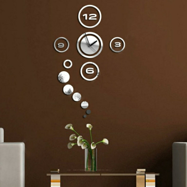 les stickers miroir une id e cr ative pour la d coration mural. Black Bedroom Furniture Sets. Home Design Ideas