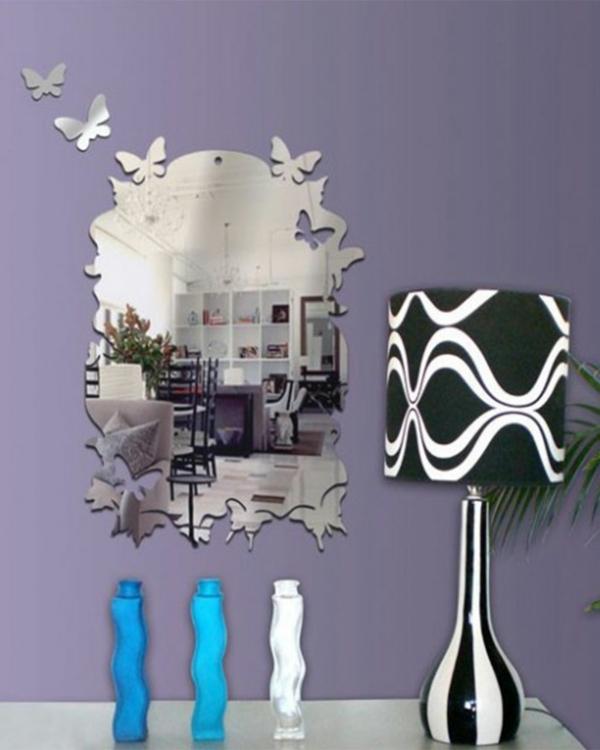 Moderne-Miror-sur-le-mur-sticker