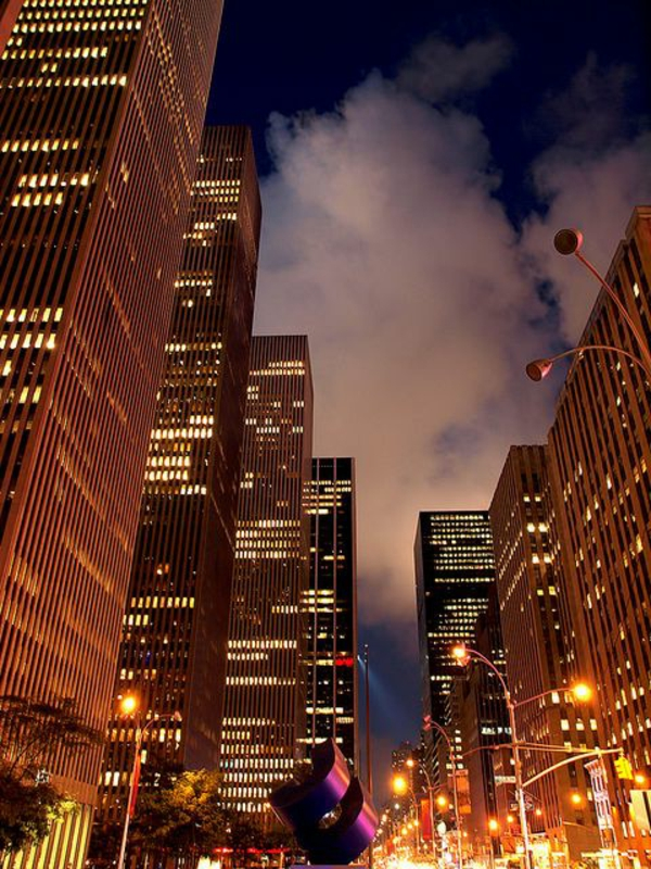 New-York-pendant-la-nuit