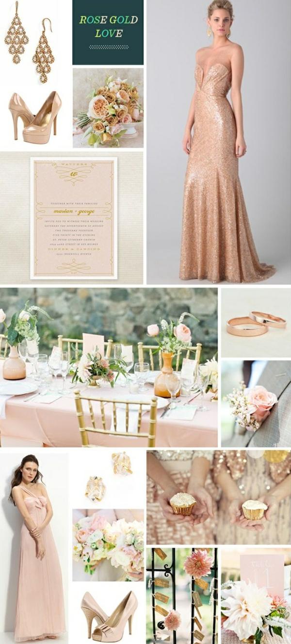 Robe-de-mariée-rose-tenue