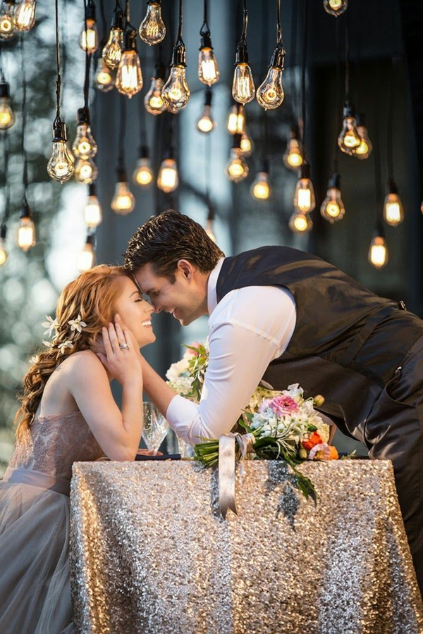 Robe-rose-de-mariée-élégante-couple-jolie