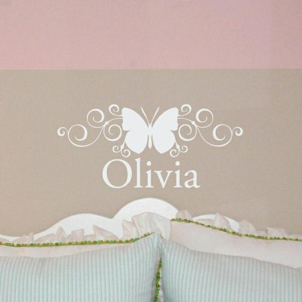 Les stickers miroir une id e cr ative pour la d coration for Decoration murale papillon