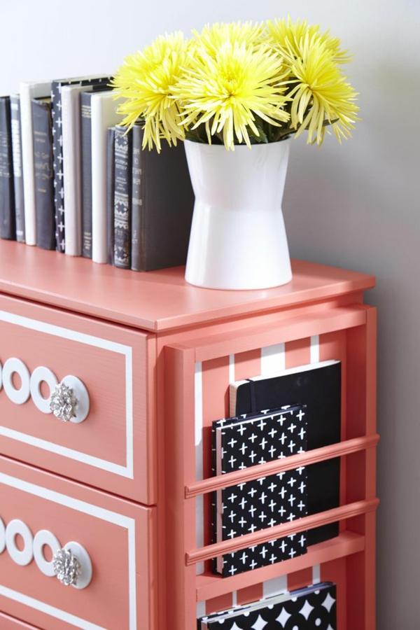 Table-de-chevet-idée-décoration-couleur-peche