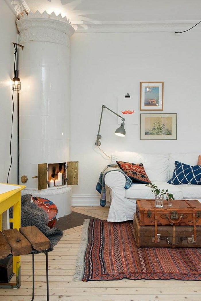 Transformer-votre-valise-vintage-en-meuble-table-basse-sofa-ambiance-tapis-ethno