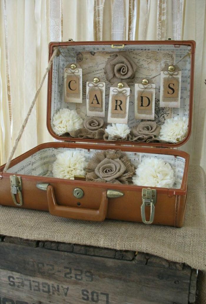 60 id es avec la valise vintage. Black Bedroom Furniture Sets. Home Design Ideas