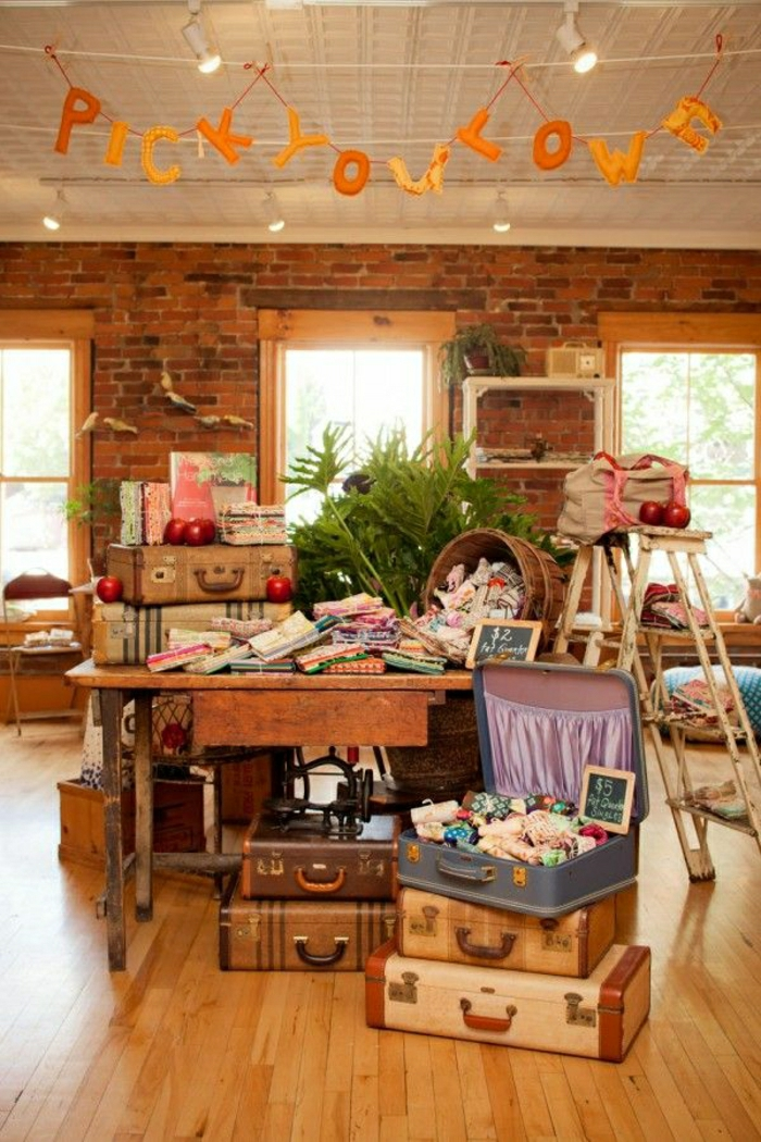 60 id es avec la valise vintage for Craft shows in louisiana