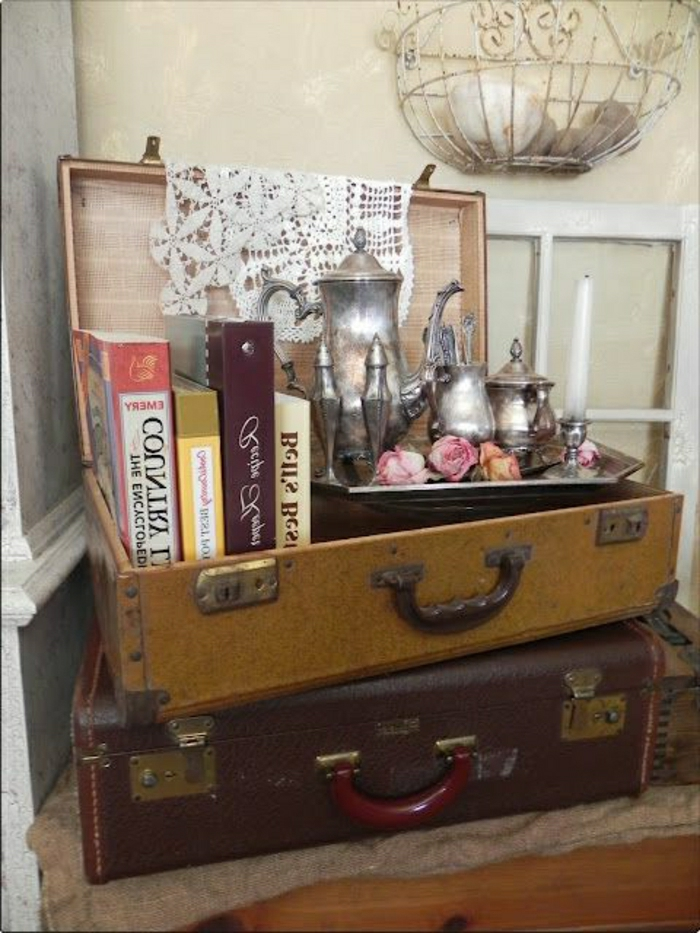 Valise-meuble-idee-deco-chambre-bibliotheque-thé