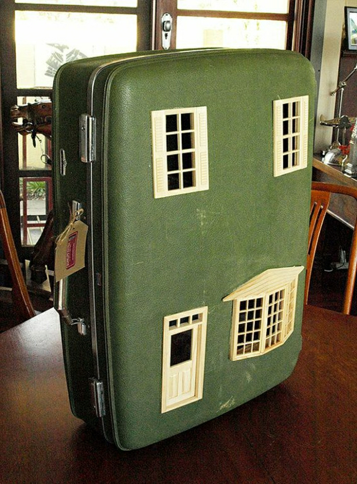 60 id es avec la valise vintage - Deco chambre annee 60 ...