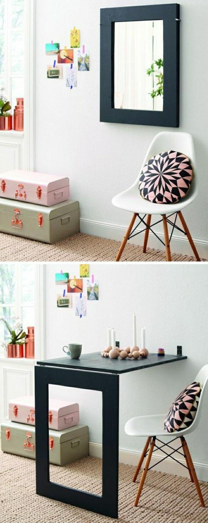 Valise-vintage-intérieur-idées-créativité-table-miroir-valises