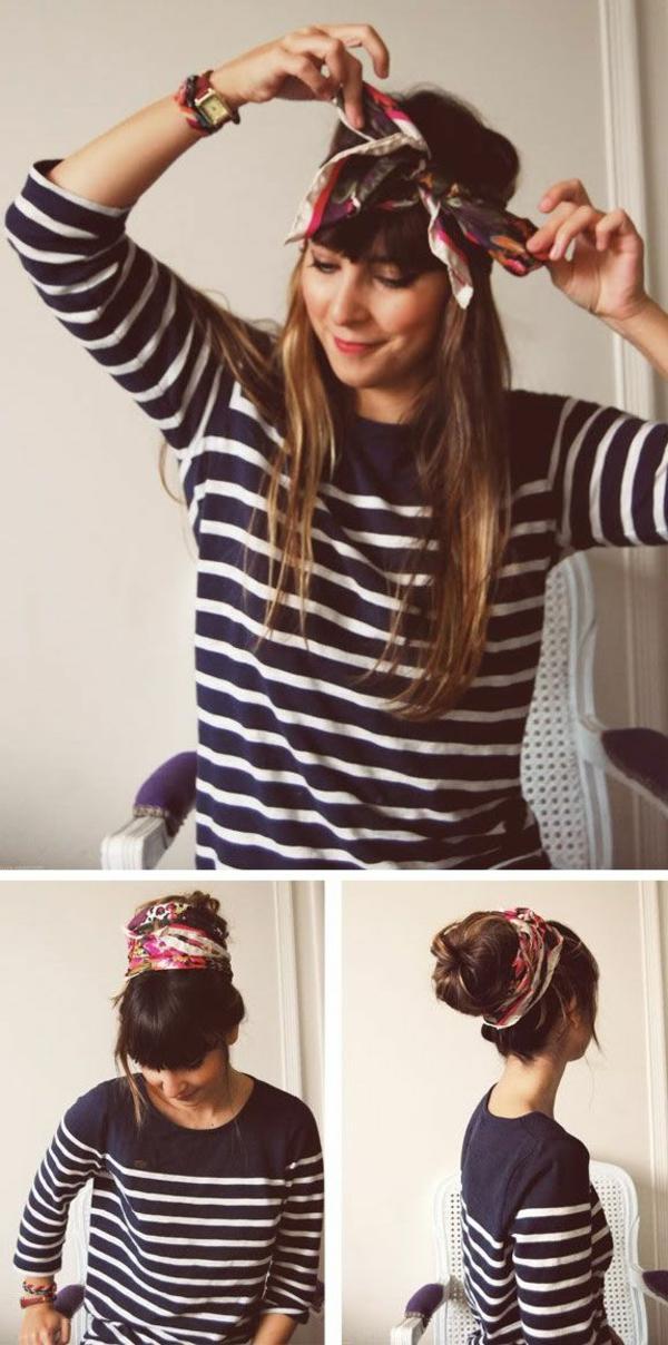 accessoire-cheveux-bandana-cheveux-coloré-fille-brune