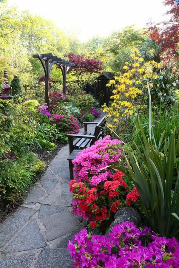 Cr er le plus beau jardin avec le gravier pour all e - Allee de jardin originale ...