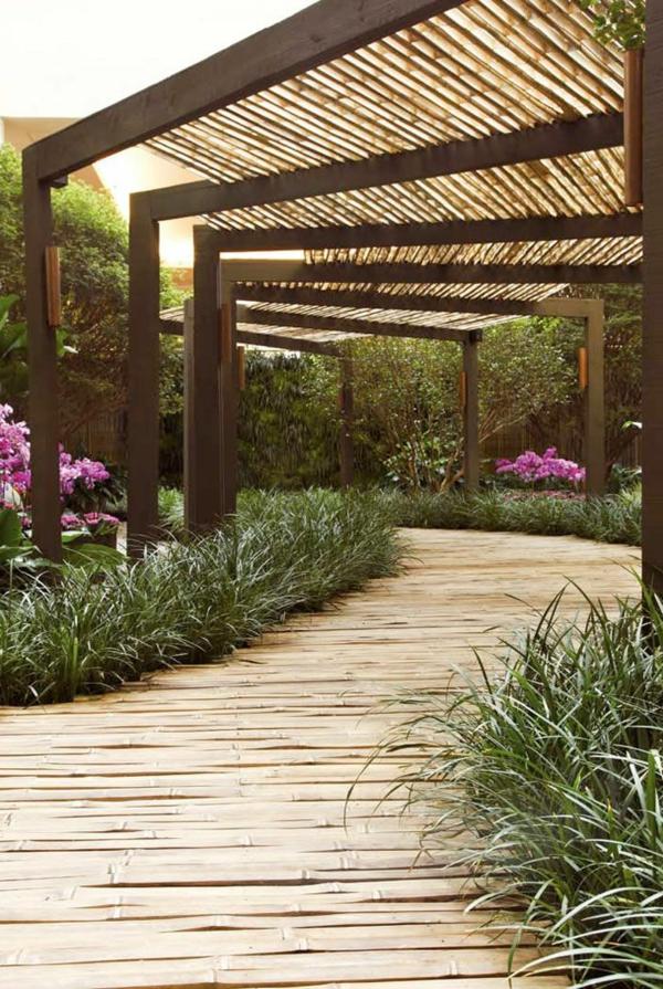 All es de jardin cr atives pour votre ext rieur - Construire une allee de jardin ...