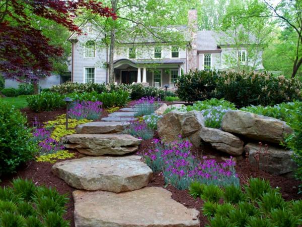 allées-de-jardin-allée-originale-diy-idée-pour-l'extérieur
